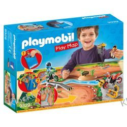 PLAYMOBIL 9329 PLAY MAP MOTOCROSS