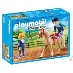 PLAYMOBIL 6933 TRENING WOLTYŻERKI - COUNTRY Friends
