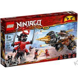 70669 WIERTŁO COLE'A (Cole's Earth Driller) KLOCKI LEGO NINJAGO Kompletne zestawy