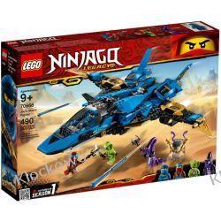 70668 BURZOWY MYŚLIWIEC JAY'A (Jay's Storm Fighter) KLOCKI LEGO NINJAGO Playmobil