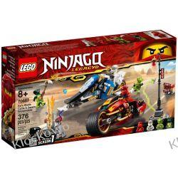 70667 MOTOCYKL KAIA I SKUTER ZANE'A (Kai's Blade Cycle & Zane's Snowmobile) KLOCKI LEGO NINJAGO Playmobil