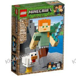 21149 MINECRAFT BIGFIG —ALEX Z KURCZAKIEM(Minecraft Alex BigFig with Chicken)- KLOCKI LEGO MINECRAFT