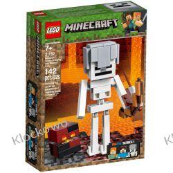 21150 MINECRAFT BIGFIG — SZKIELET Z KOSTKĄ MAGMY (Minecraft Skeleton BigFig with Magma Cube)- KLOCKI LEGO MINECRAFT