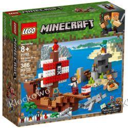 21152 PRZYGODA NA STATKU PIRACKIM (Pirate Ship)- KLOCKI LEGO MINECRAFT Inne zestawy