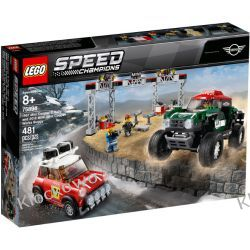 75894 1967 MINI COOPER S RAILY oraz 2018 MINI JOHN COOPER WORKS BUGGY KLOCKI LEGO SPEED CHAMPIONS Creator