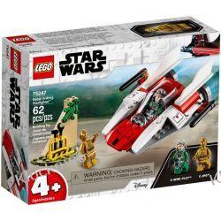 75247 REBELIANCKI MYŚLIWIEC A-WING - KLOCKI LEGO STAR WARS  Dla Dzieci