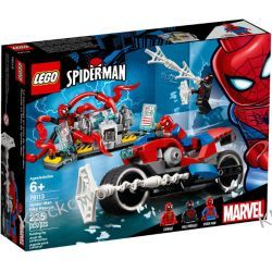 76113 POŚCIG MOTOCYKLEM SPIDER-MANA (Spider-Man Bike Rescue) - KLOCKI LEGO SUPER HEROES Kompletne zestawy