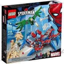 76114 MECHANICZNY PAJĄK SPIDER-MANA (Spider-Man's Spider Crawler) - KLOCKI LEGO SUPER HEROES Dla Dzieci