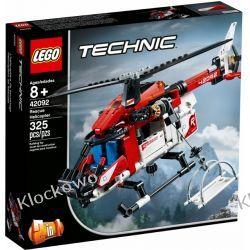 42092 HELIKOPTER RATUNKOWY (Rescue Helicopter) KLOCKI LEGO TECHNIC  Technic