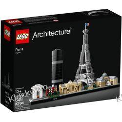21044 PARYŻ (Paris) KLOCKI LEGO ARCHITECTURE  Kompletne zestawy