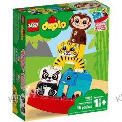 10884 MOJE PIERWSZE ZWIERZĄTKA NA RÓWNOWAŻNI (My First Balancing Animals) KLOCKI LEGO DUPLO Duplo