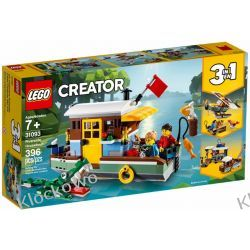 31093 ŁÓDŹ MIESZKALNA (Riverside Houseboat) KLOCKI LEGO CREATOR Dla Dzieci
