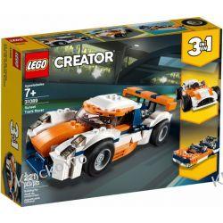31089 SŁONECZNA WYŚCIGÓWKA (Sunset Track Racer) KLOCKI LEGO CREATOR Dla Dzieci