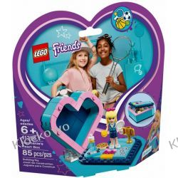41356 PUDEŁKO W KSZTAŁCIE SERCA STEPHANIE (Stephanie's Heart Box) KLOCKI LEGO FRIENDS