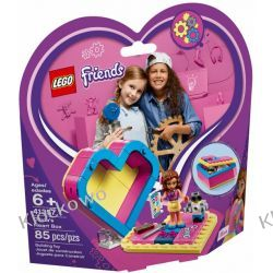 41357 PUDEŁKO W KSZTAŁCIE SERCA OLIVII (Olivia's Heart Box) KLOCKI LEGO FRIENDS Dla Dzieci
