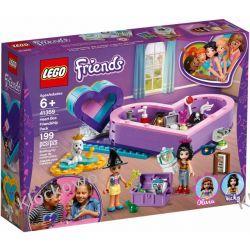 41359 PUDEŁKO W KSZTAŁCIE SERCA ZESTAW PRZYJAŹNI (Heart Box Friendship Pack) KLOCKI LEGO FRIENDS Dla Dzieci