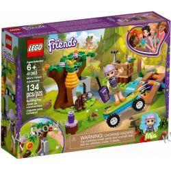 41363 LEŚNA PRZYGODA MII (Mia's Forest Adventures) KLOCKI LEGO FRIENDS Dla Dzieci