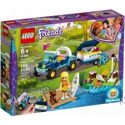 41364 ŁAZIK Z PRZYCZEPKĄ STEPHANIE (Stephanie's Buggy & Trailer) KLOCKI LEGO FRIENDS Dla Dzieci