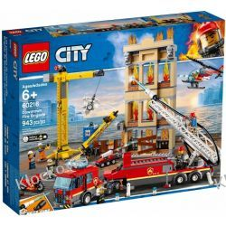 60216 STRAŻ POŻARNA W ŚRÓDMIEŚCIU (Downtown Fire Brigade) KLOCKI LEGO CITY Kompletne zestawy
