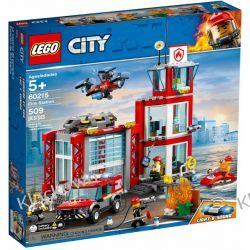 60215 REMIZA STRAŻACKA (Fire Station) KLOCKI LEGO CITY Kompletne zestawy