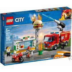 60214 NA RATUNEK W PŁONĄCYM BARZE (Burger Bar Fire Rescue) KLOCKI LEGO CITY Playmobil