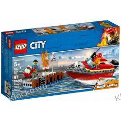60213 POŻAR W DOKACH (Dock Side Fire) KLOCKI LEGO CITY Creator
