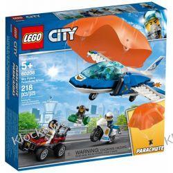 60208 ARESZTOWANIE SPADACHRONIARZA (Parachute Arrest) KLOCKI LEGO CITY Dla Dzieci