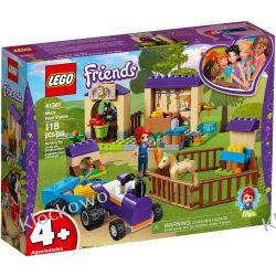 41361 STAJNIA ZE ŹREBAKAMI MII (Mia's Foal Stable) KLOCKI LEGO FRIENDS Kompletne zestawy
