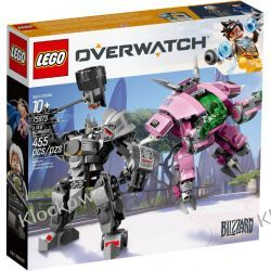 75973 D.VA & REINHARDT - KLOCKI LEGO OVERWATCH Kompletne zestawy