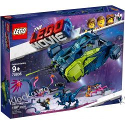 70835 REXPLORER REXA (Rex's Rexplorer!) KLOCKI LEGO MOVIE 2 Friends