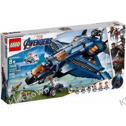 76126 WSPANIAŁY QUINJET AVENGERSÓW ( Avengers Ultimate Quinjet )- KLOCKI LEGO SUPER HEROES  Dla Dzieci