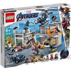 76131 BITWA W KWATERZE AVENGERSÓW (Avengers Compound Battle )- KLOCKI LEGO SUPER HEROES  Dla Dzieci