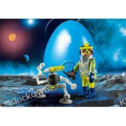 PLAYMOBIL 9416 SPACE AGENT Z ROBOTEM Dla Dzieci