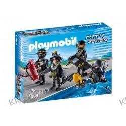 PLAYMOBIL 9365 JEDNOSTKA SPECJALNA - CITY ACTION Dla Dzieci