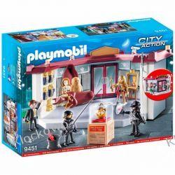 PLAYMOBIL 9451 NAPAD NA MUZEUM - CITY ACTION Dla Dzieci