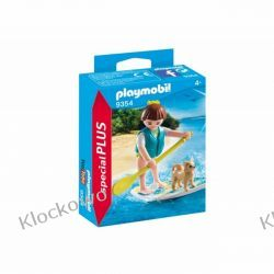 PLAYMOBIL 9354 WIOŚLARKA Z PIESKIEM NA DESCE- SPECIAL PLUS Friends