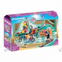 PLAYMOBIL 9402 SKLEP ROWEROWY I SKATEBOARDOWY - CITY LIFE Dla Dzieci