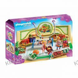 PLAYMOBIL 9403 SKLEP ZE ZDROWĄ ŻYWNOŚCIĄ - CITY LIFE Playmobil