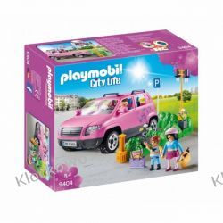 PLAYMOBIL 9404 SAMOCHÓD RODZINNY Z ZATOCZKĄ PARKINGOWĄ- CITY LIFE Playmobil