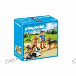 PLAYMOBIL 9279 TRENER PSÓW - CITY LIFE