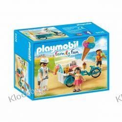 PLAYMOBIL 9426 ROWER Z WÓZKIEM Z LODAMI - FAMILY FUN Playmobil