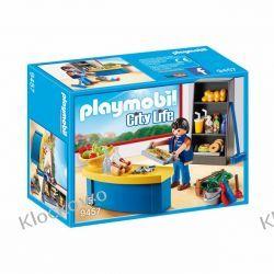 PLAYMOBIL 9457 WOŹNY Z KIOSKIEM - CITY LIFE Playmobil