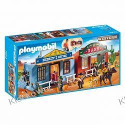 PLAYMOBIL 70012 PRZENOŚNE MIASTECZKO WESTERNOWE - WESTERN Playmobil