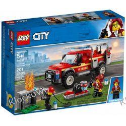 60231 TERENÓWKA KOMENDANTKI STRAŻY POŻARNEJ (Fire Chief Response Truck) KLOCKI LEGO CITY Playmobil