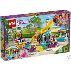 41374 IMPREZA ANDREI NA BASENIE (Andrea's Pool Party) KLOCKI LEGO FRIENDS Playmobil