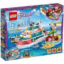 41381 ŁÓDŹ RATUNKOWA (Rescue Mission Boat) KLOCKI LEGO FRIENDS Dla Dzieci