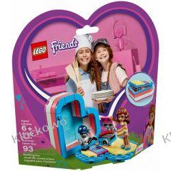 41387 PUDEŁKO PRZYJAŹNI OLIVII (Olivia's Summer Heart Box) KLOCKI LEGO FRIENDS Dla Dzieci