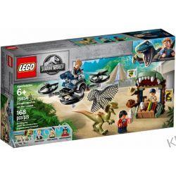 75934 DILOFOZAUR NA WOLNOŚCI (Dilophosaurus on the Loose) - KLOCKI LEGO JURASSIC WORLD Dla Dzieci