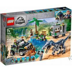 75935 STARCIE Z BARIONYKSEM POSZUKIWANIE SKARBÓW (Baryonyx Face-Off: The Treasure Hunt) - KLOCKI LEGO JURASSIC WORLD Dla Dzieci