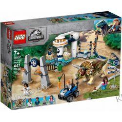 75937 ATAK TRICERATOPSA (Triceratops Rampage) - KLOCKI LEGO JURASSIC WORLD Dla Dzieci